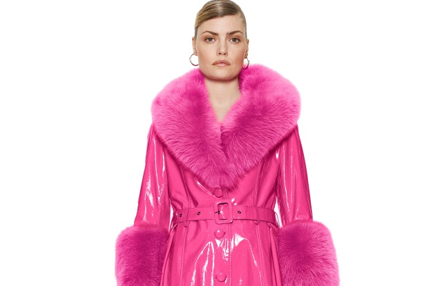 A look from the Saks Potts fall 2019 collection