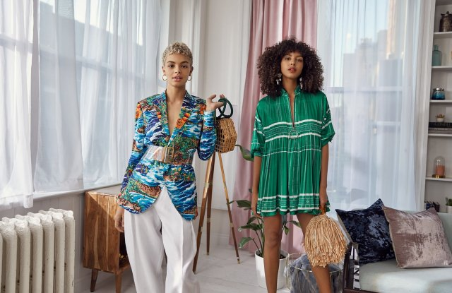 A spring campaign image from Shopbop.