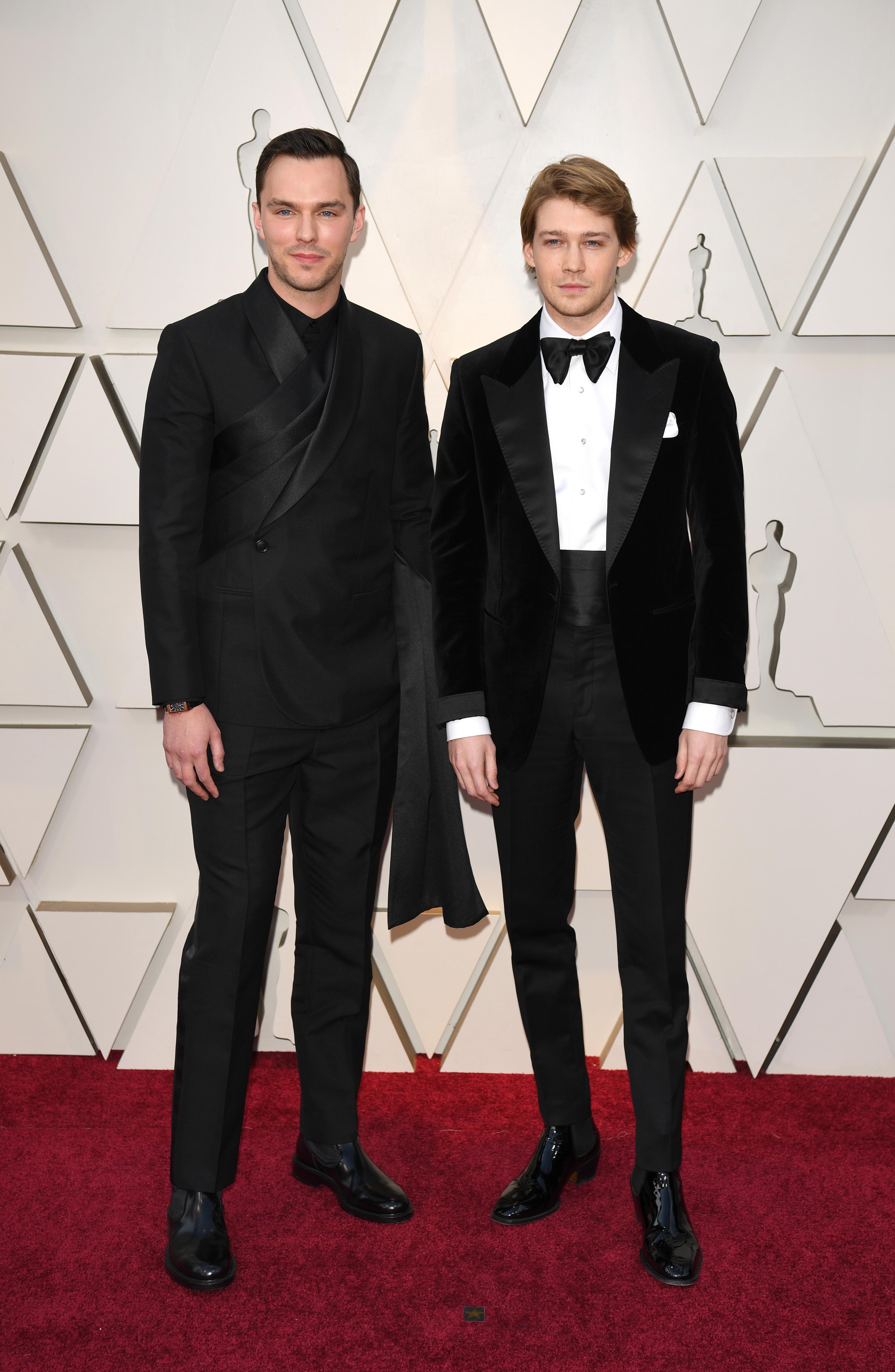 Nicholas Hoult and Joe Alwyn, 2019 Oscars