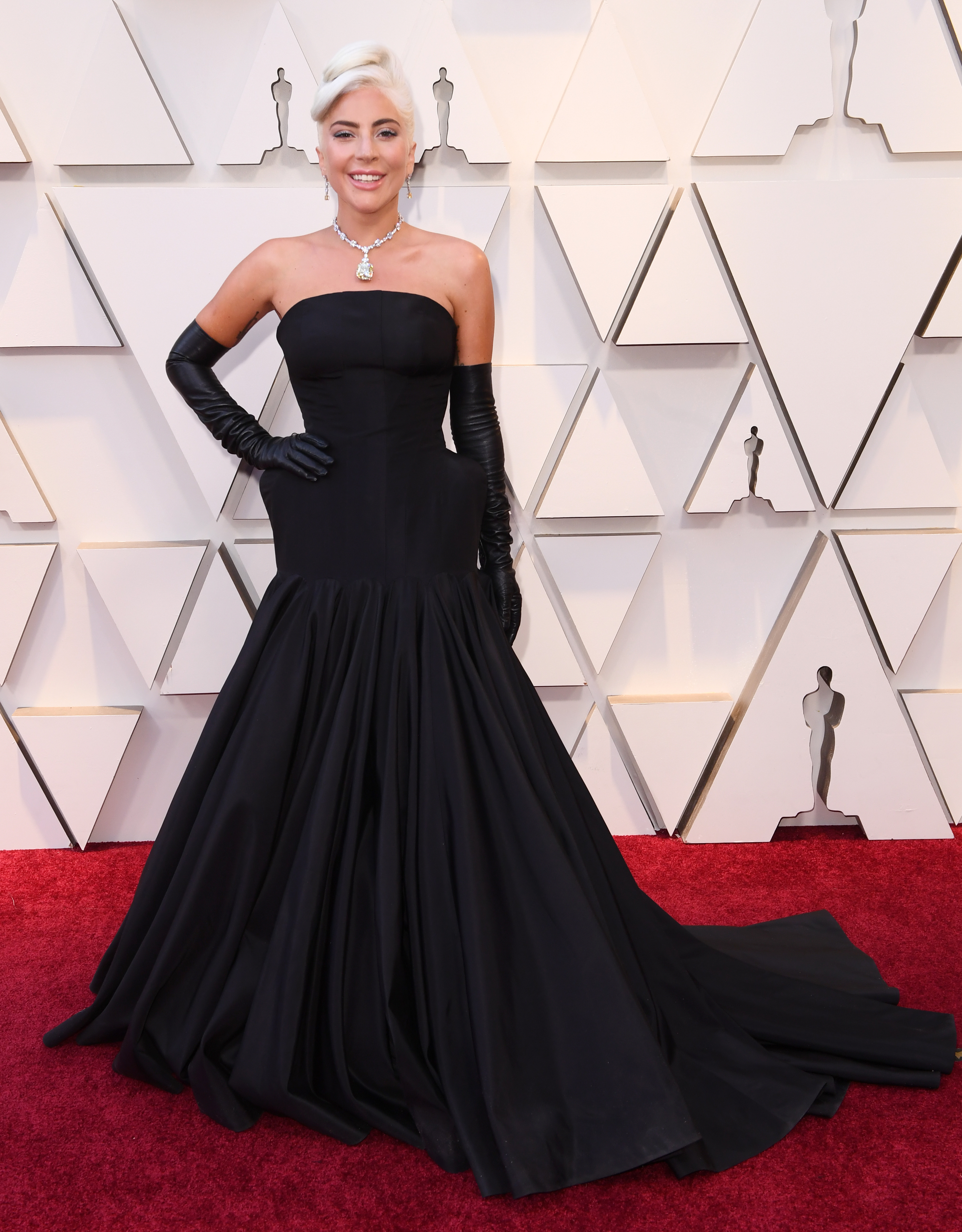 Lady Gaga in Alexander McQueen, 2019 Oscars