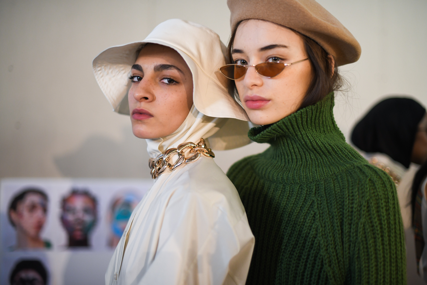 Backstage at Aalto RTW Fall 2019