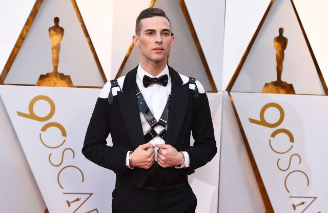Adam Rippon arrives at the Oscars, at the Dolby Theatre in Los Angeles90th Academy Awards - Arrivals, Los Angeles, USA - 04 Mar 2018