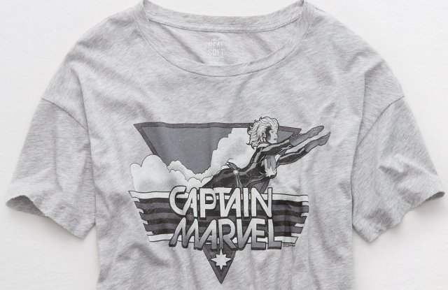 """Aerie has a limited edition """"Captain Marvel"""" collection."""