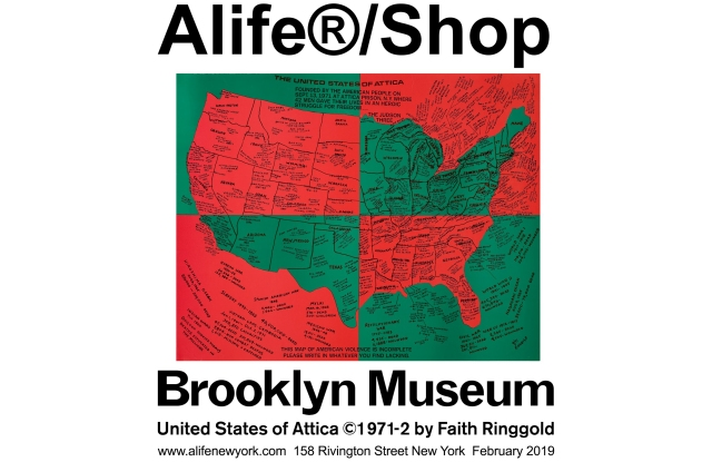 Alife x Brooklyn Museum x Faith Ringgold