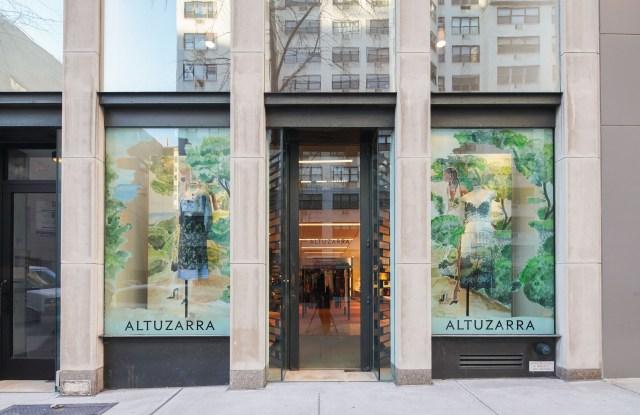 The Altuzarra pop-up in New York.