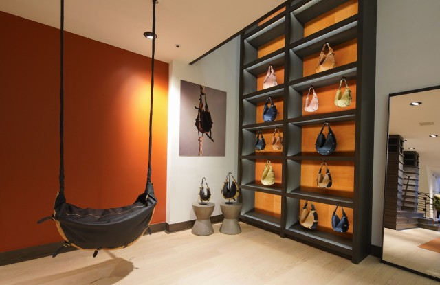 The Play Corner. Handbags to carry and to swing on.