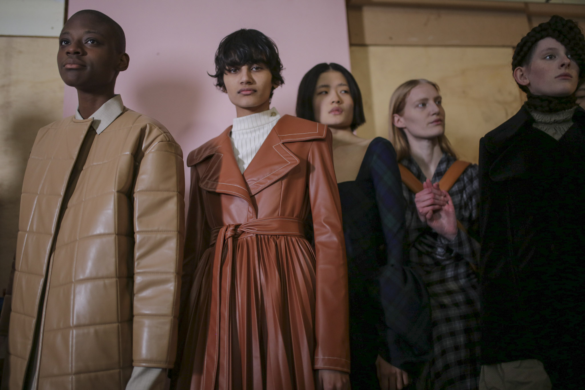 Backstage at AWAKE RTW Fall 2019