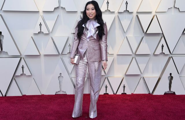 Awkwafina arrives at the Oscars, at the Dolby Theatre in Los Angeles91st Academy Awards - Arrivals, Los Angeles, USA - 24 Feb 2019
