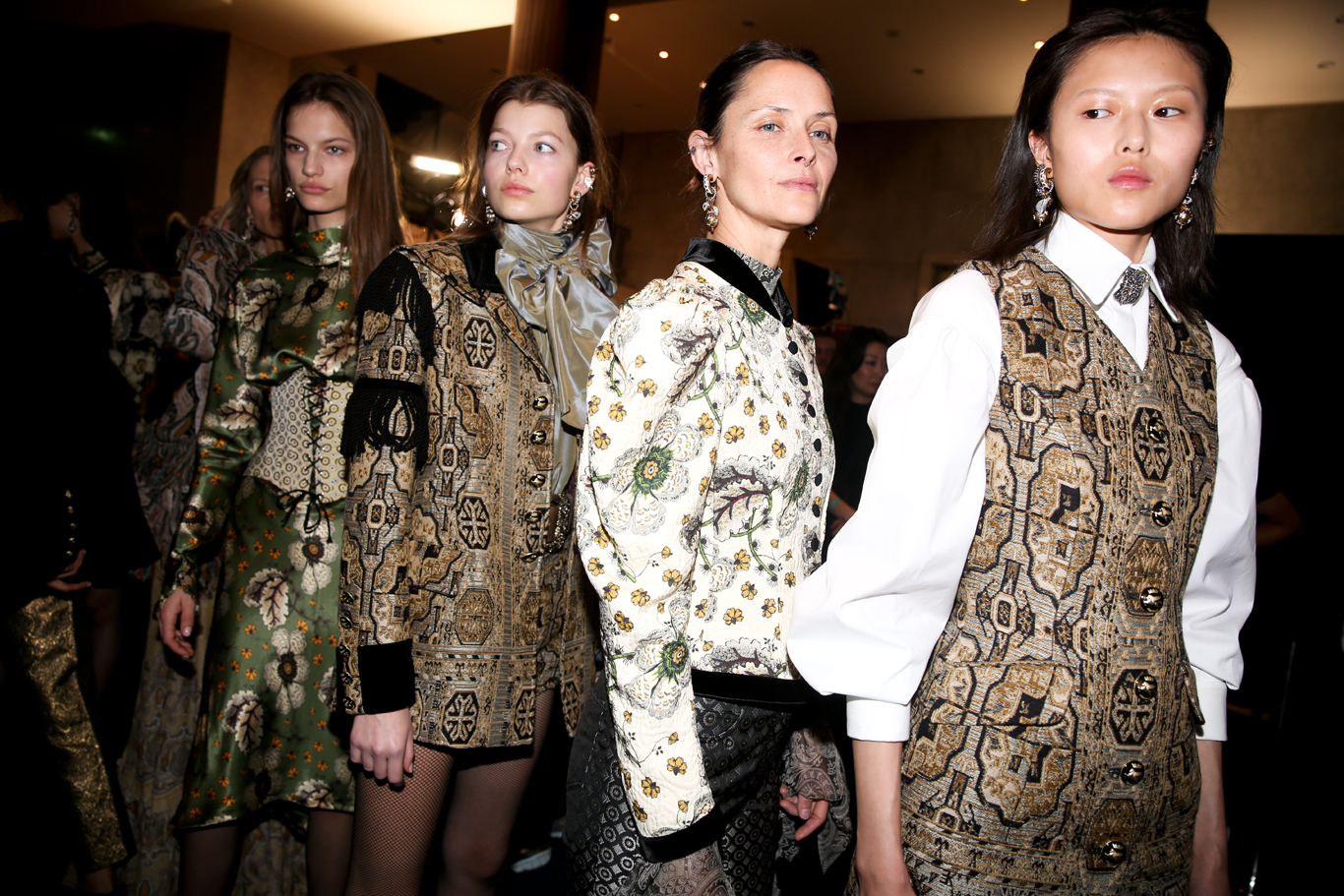 Backstage at Etro-RTW-Fall-2019