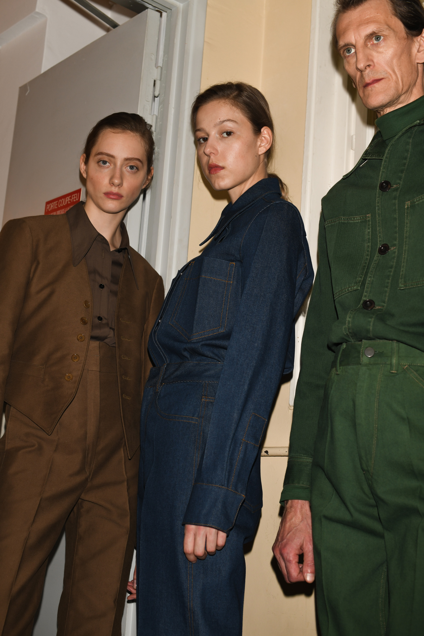 Backstage at  Lemaire  RTW Fall 2019