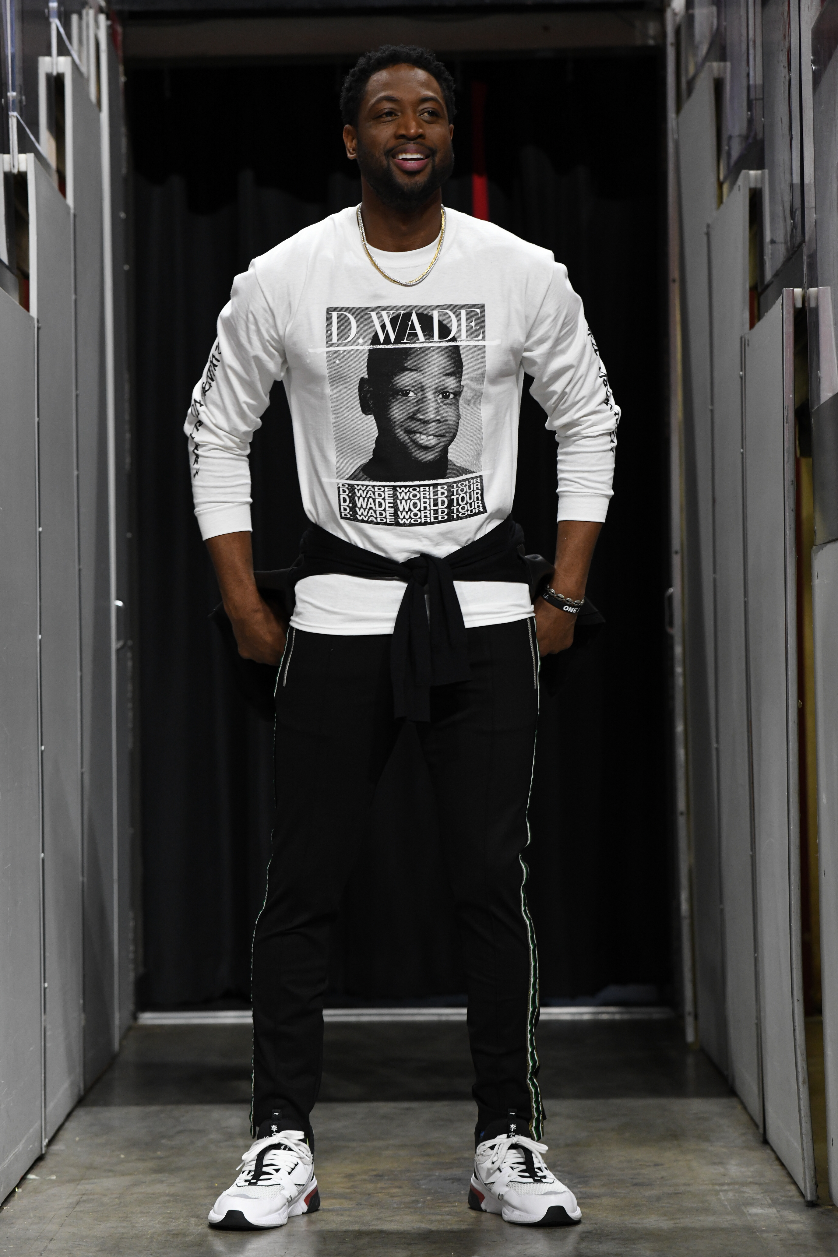 Dwyane Wade in a piece from the Bleacher Report collection.