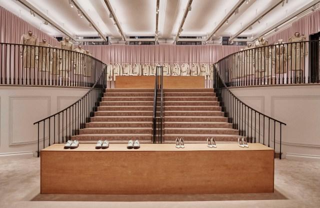 Burberry Regent Street flagship store, London.