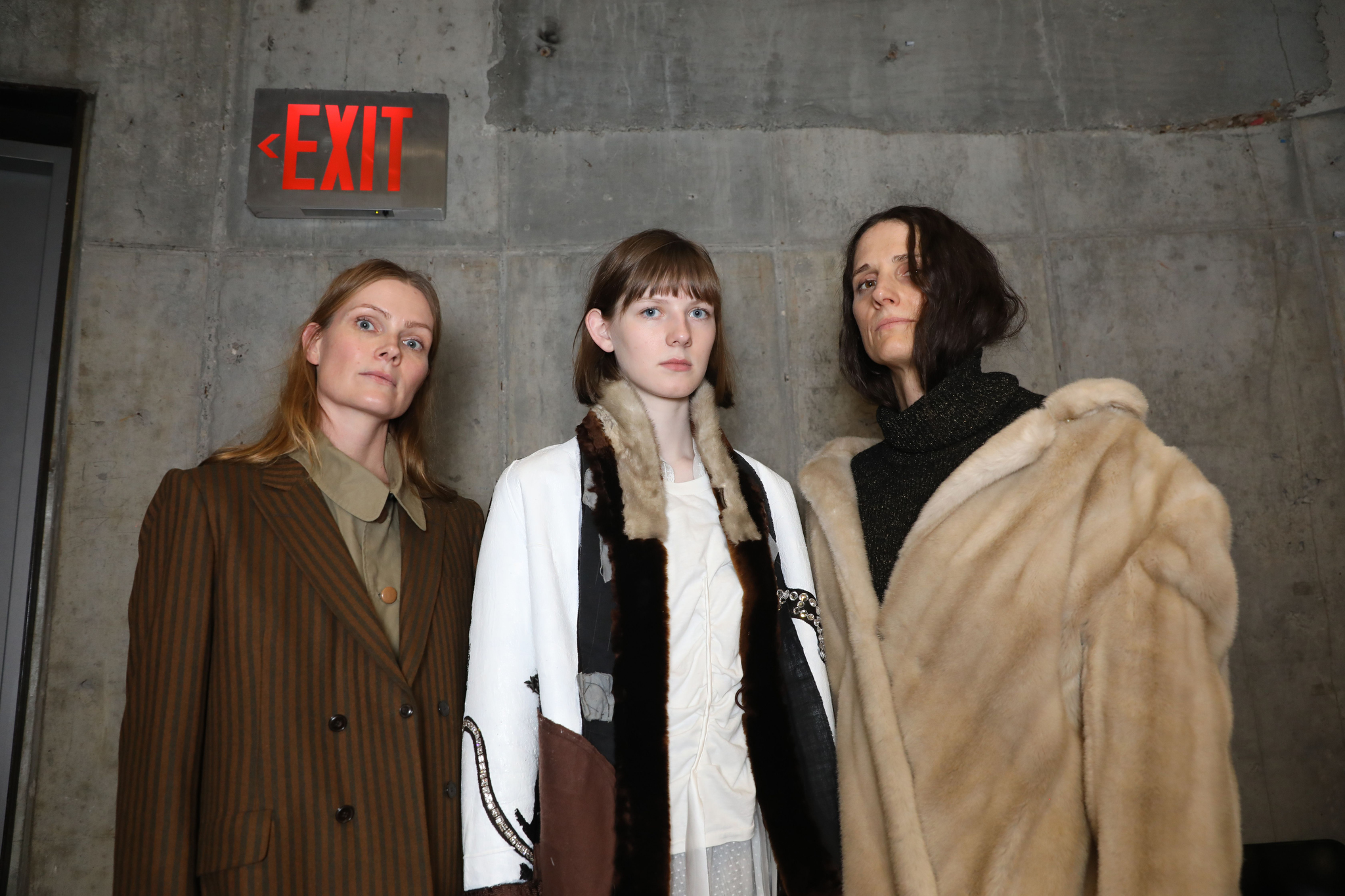 Backstage at Creatures of the Wind RTW Fall 2019