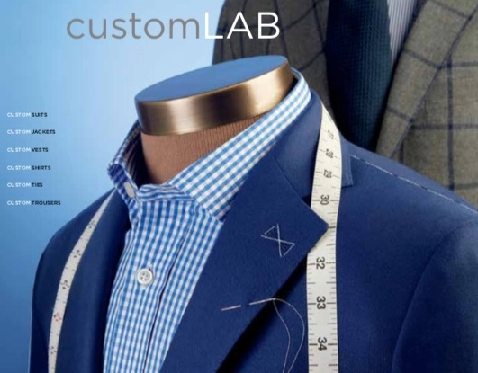 CustomLAB is now operating at all Paul Stuart stores in the U.S.