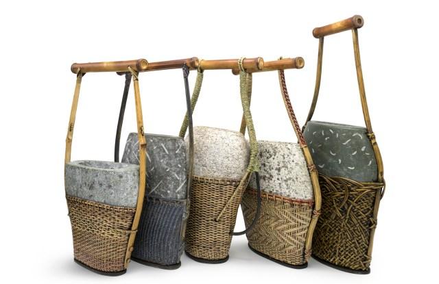 A 'Geisha Handbag Series' from Deloss Webber, one of the finalists.