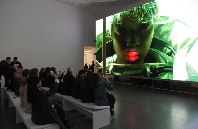 LONDON, ENGLAND - FEBRUARY 16: A general view of the atmosphere at the Maison Margiela's 'Reality Inverse' screening at The Serpentine Gallery on February 16, 2019 in London, England. Pic Credit: Dave Benett