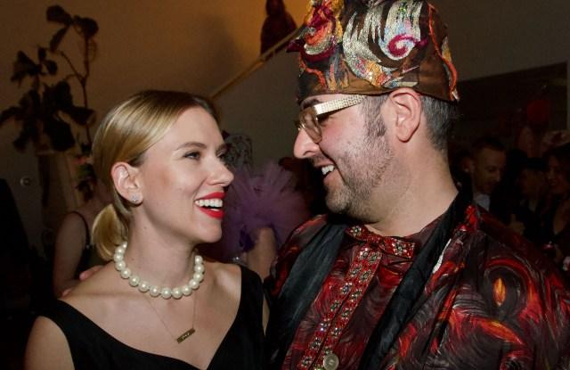 Scarlett Johansson and Ari Seth Cohen