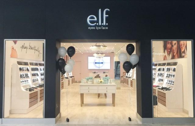 An E.l.f. store.