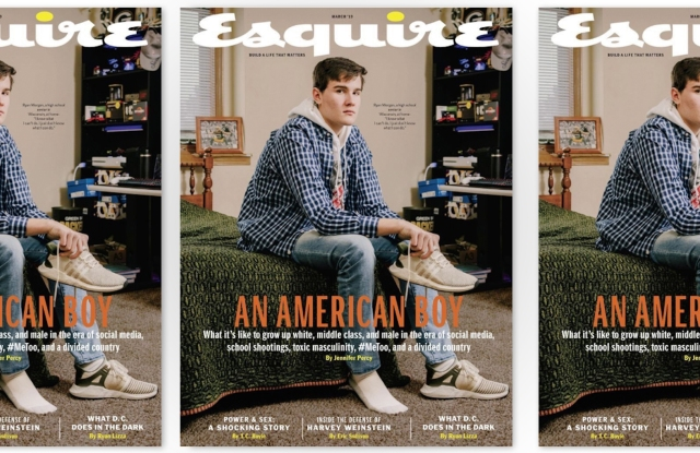 Esquire's March cover story isn't sitting well with the social media public.