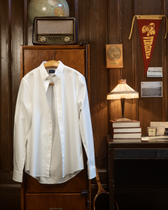 The button-down shirt is a signature product for Gant.