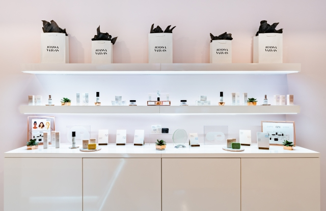 The Joanna Vargas skin-care line, available at the Fifth Avenue salon.