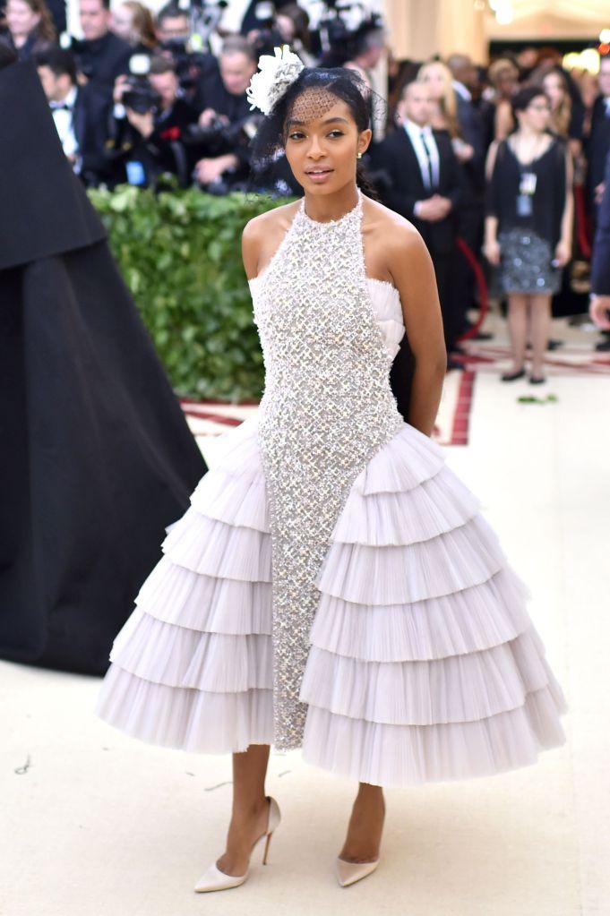 Karl Lagerfeld's Best Chanel Red Carpet Dresses