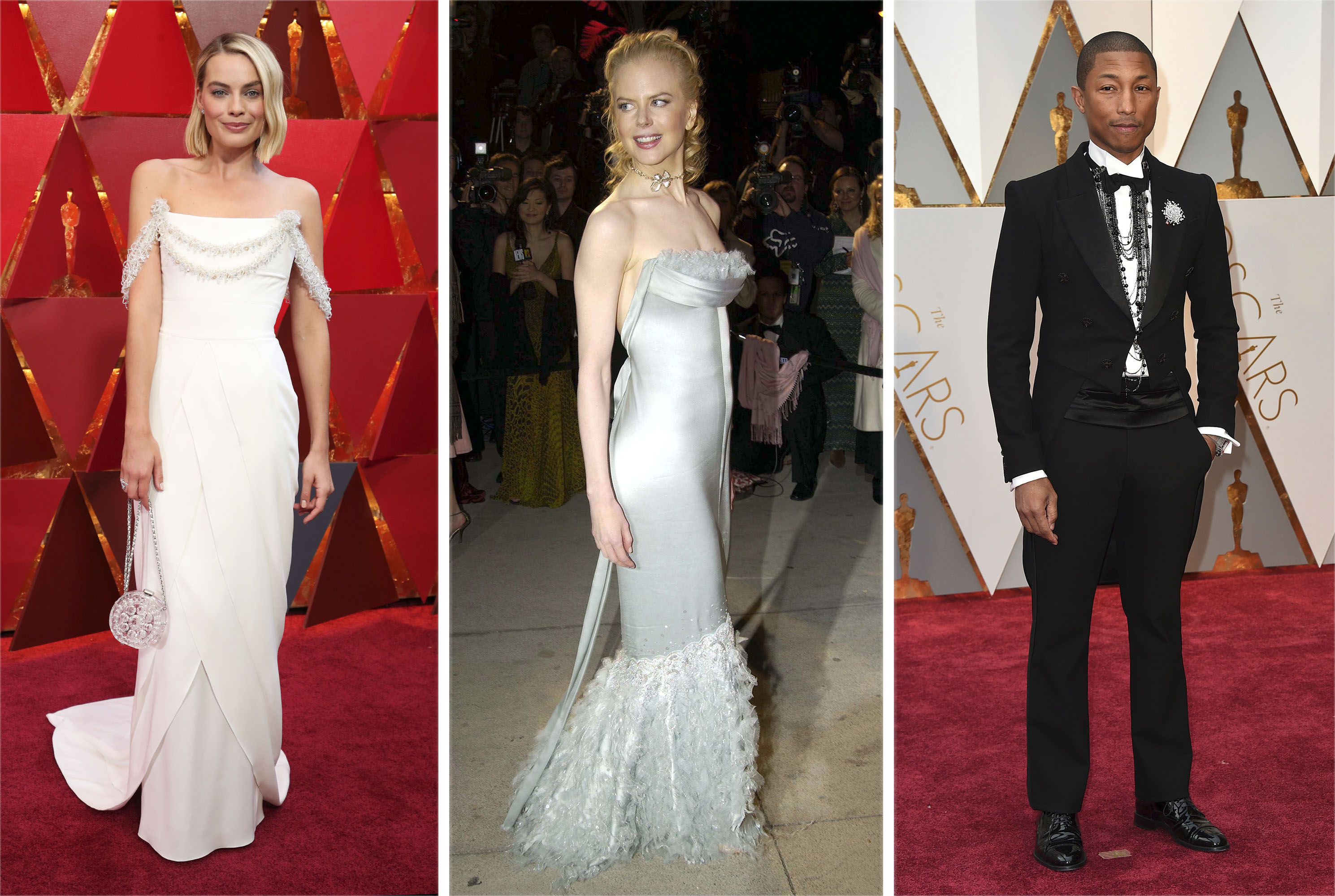 Karl Lagerfeld's Chanel on the Oscars Red Carpet