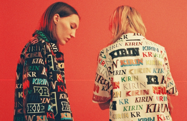 Looks from the debut Kirin collection.