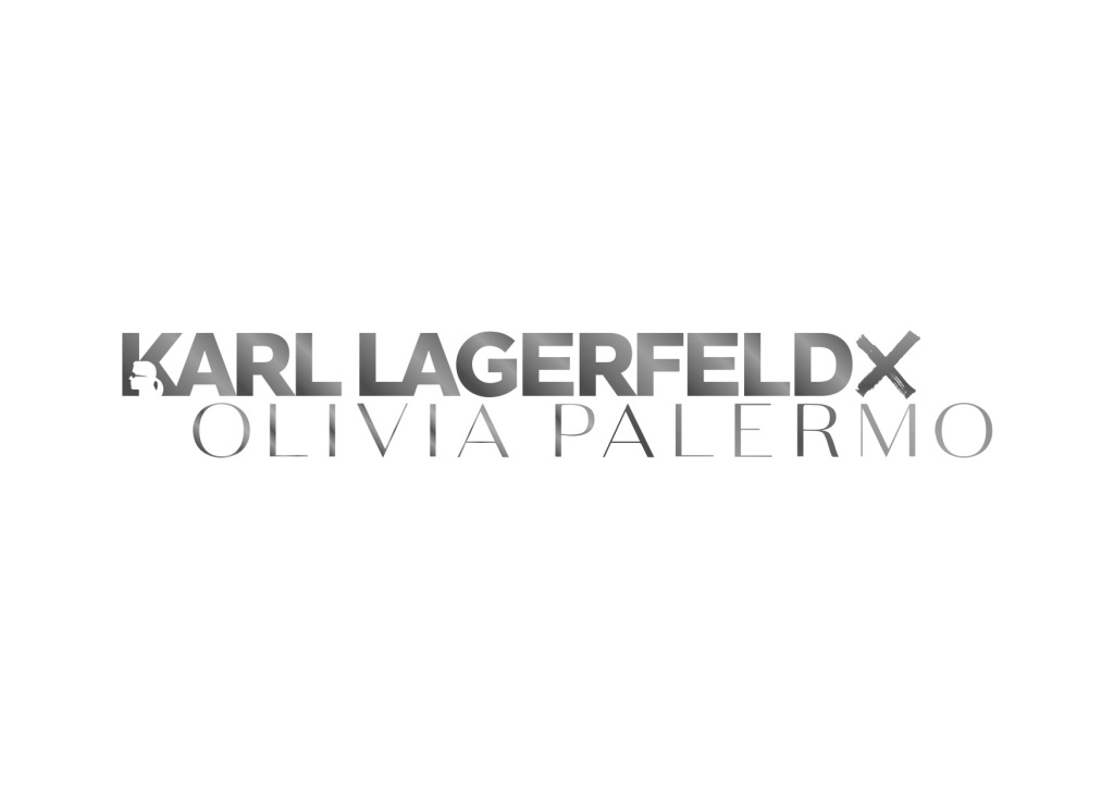 The logo of Karl Lagerfeld's collaboration with Olivia Palermo.