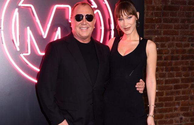 Michael Kors and Bella Hadid