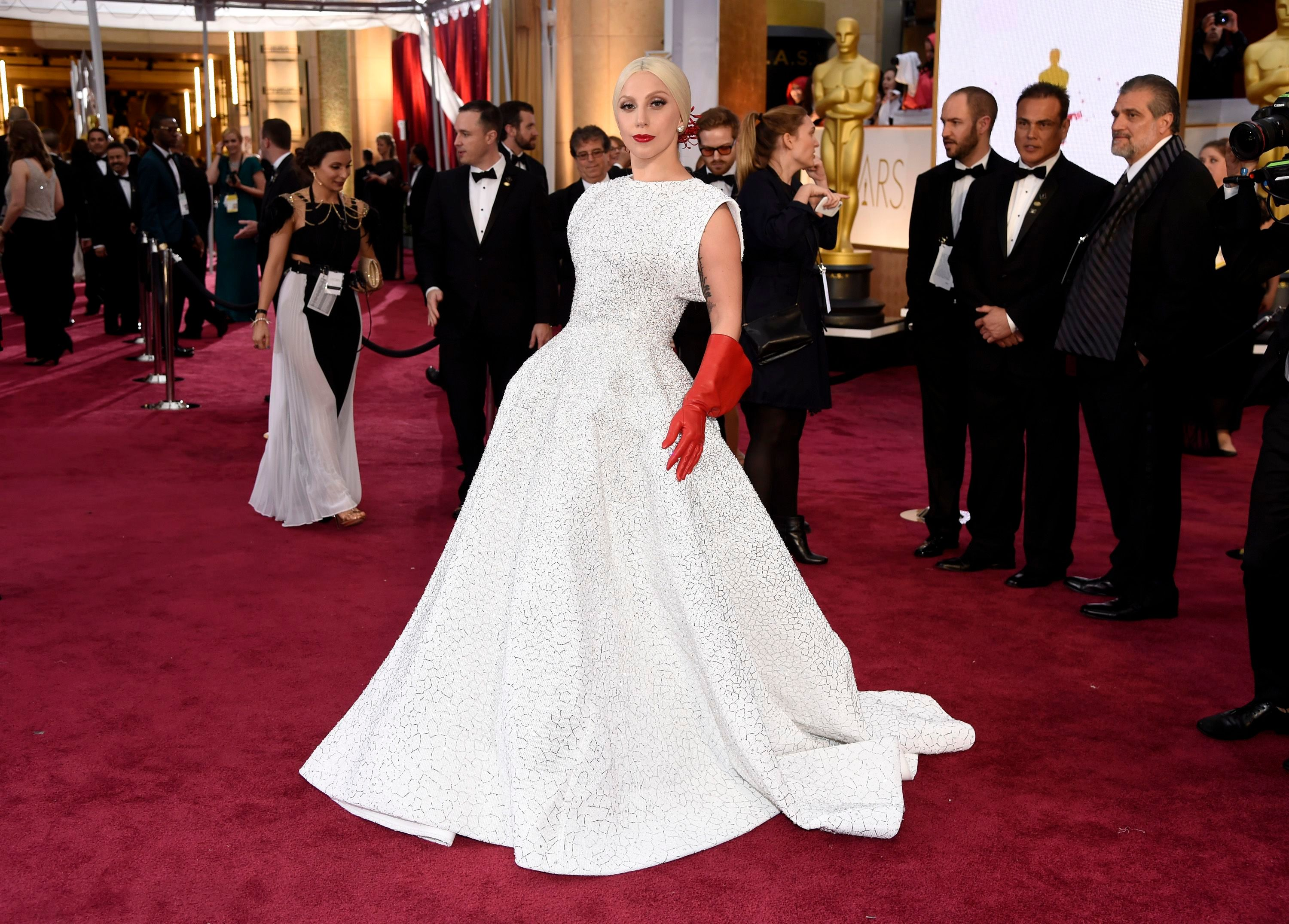 Lady Gaga arrives at the Oscars, at the Dolby Theatre in Los Angeles87th Academy Awards - Arrivals, Los Angeles, USA - 22 Feb 2015