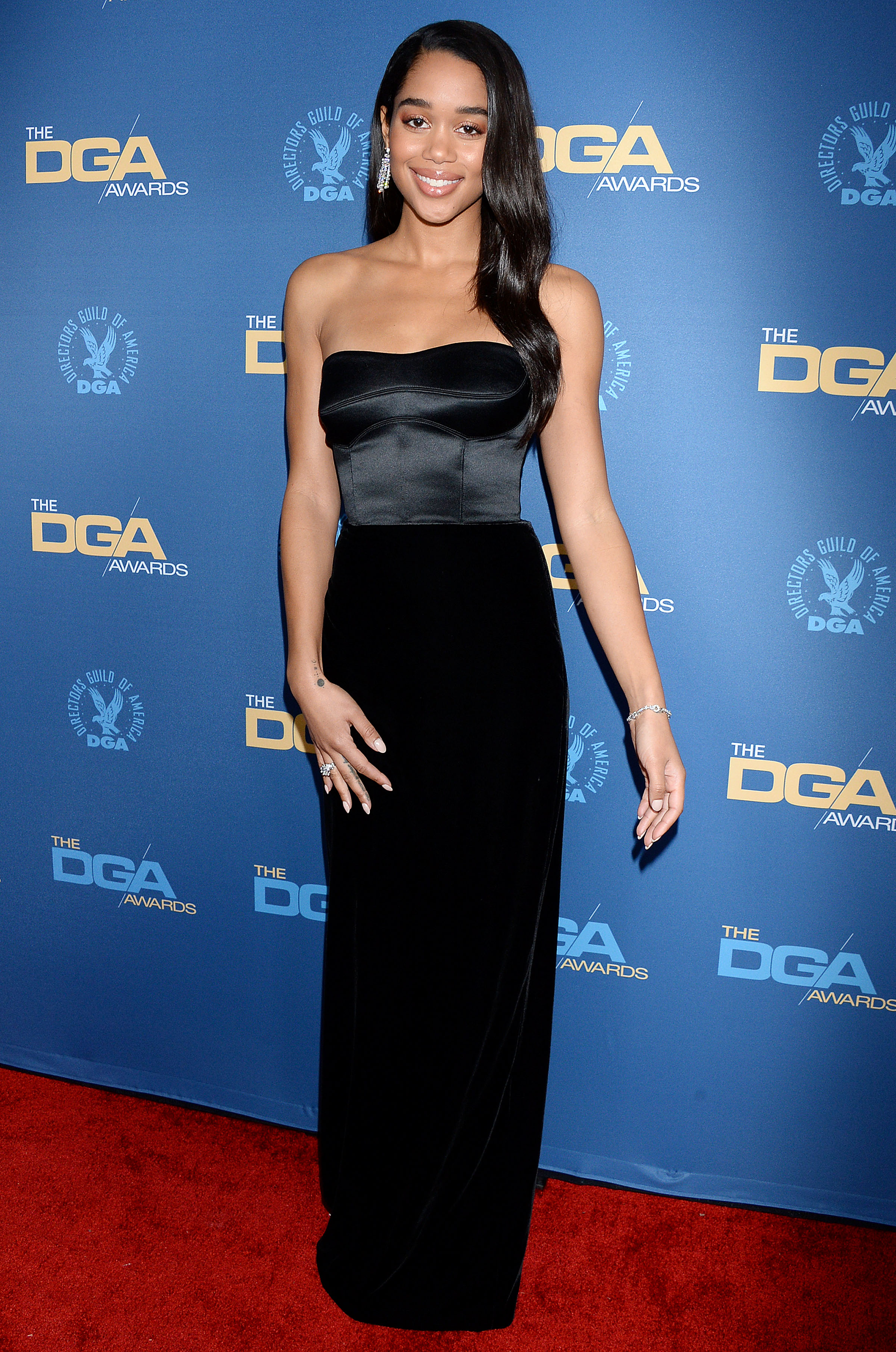 Laura Harrier71st Annual Directors Guild of America Awards, Los Angeles, USA - 02 Feb 2019 Wearing Brandon Maxwell