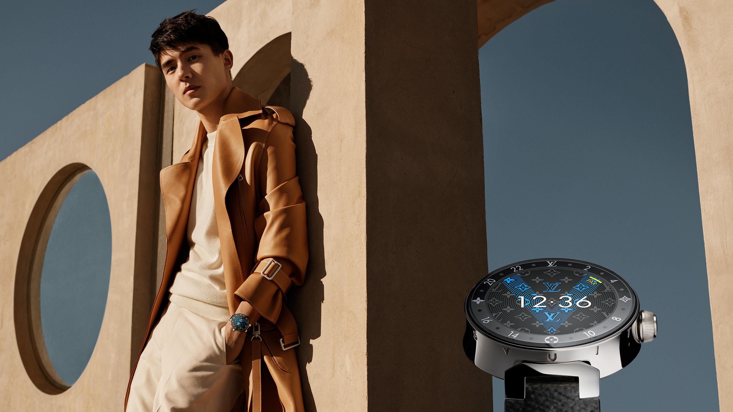 Liu Haoran in the Louis Vuitton Tambour 2 campaign