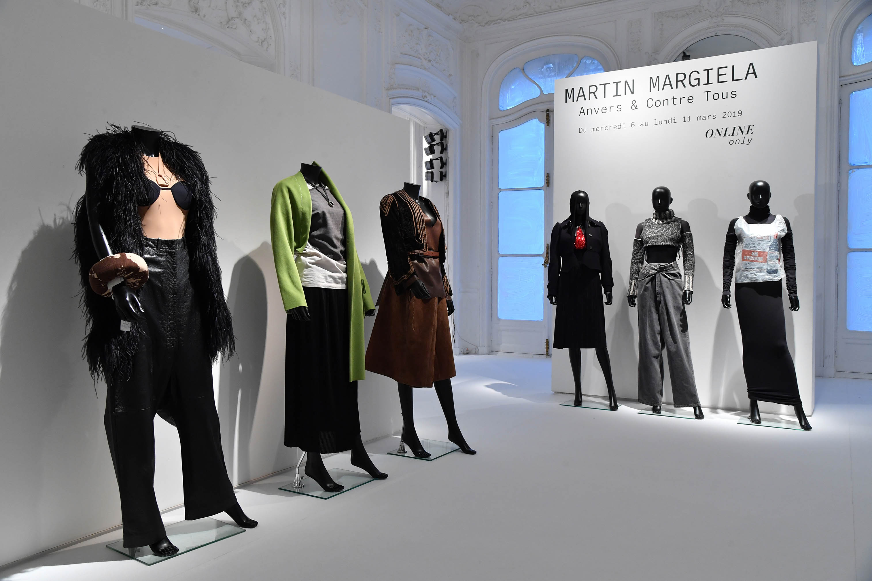 A look at the Martin Margiela designs up for auction.
