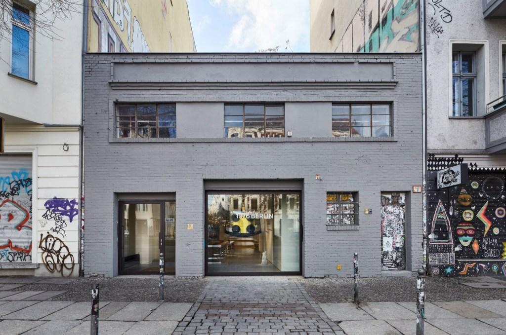 MCM's new experimental retail space in Berlin's Mitte district.MCM's new experimental retail space in Berlin's Mitte district