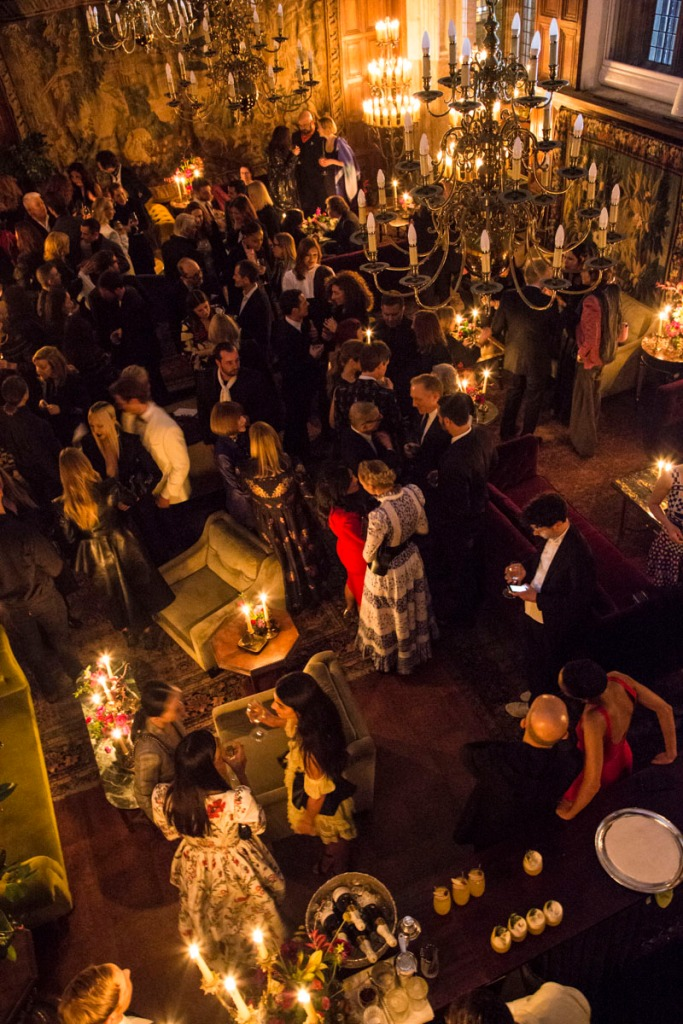 Inside the McQueen dinner during London Fashion Week