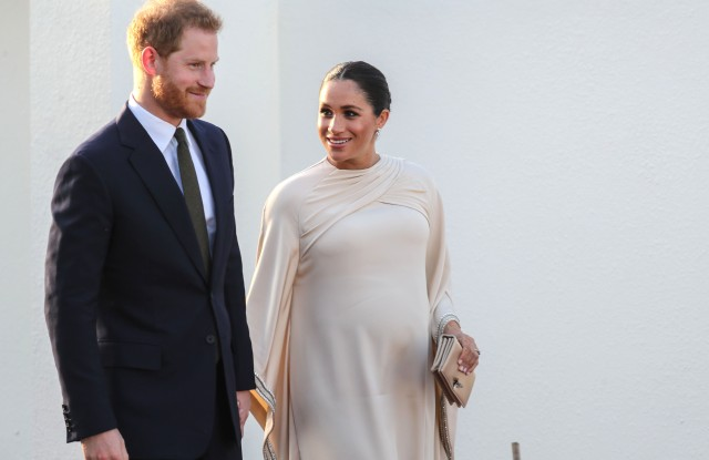Prince Harry and Meghan Duchess of Sussex attend a reception hosted by the British Ambassador to MoroccoPrince Harry and Meghan Duchess of Sussex visit to Morocco - 24 Feb 2019