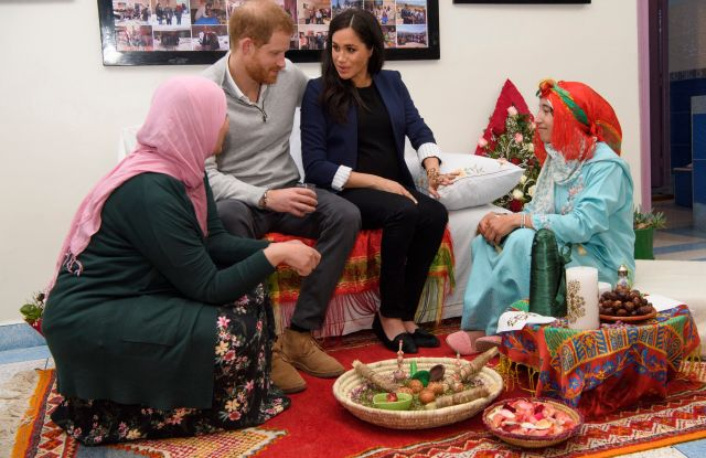 Prince Harry and Meghan Duchess of SussexPrince Harry and Meghan Duchess of Sussex visit to Morocco - 24 Feb 2019
