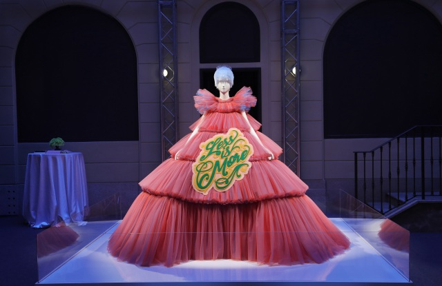 """MILAN, ITALY - FEBRUARY 22: General view of the Press Event for The Costume Institute's spring 2019 exhibition """"Camp: Notes on Fashion"""" on February 22, 2019 in Milan, Italy. (Photo by Vittorio Zunino Celotto/Getty Images for The Metropolitan Museum of Art)"""
