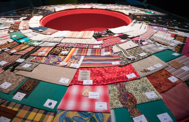The trend area at the 28th edition of textile trade show Milano Unica.