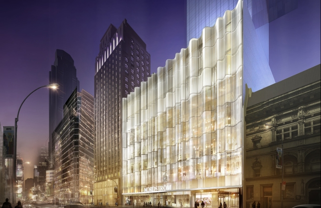 A rendering of Nordstrom's women's flagship on 57th Street.