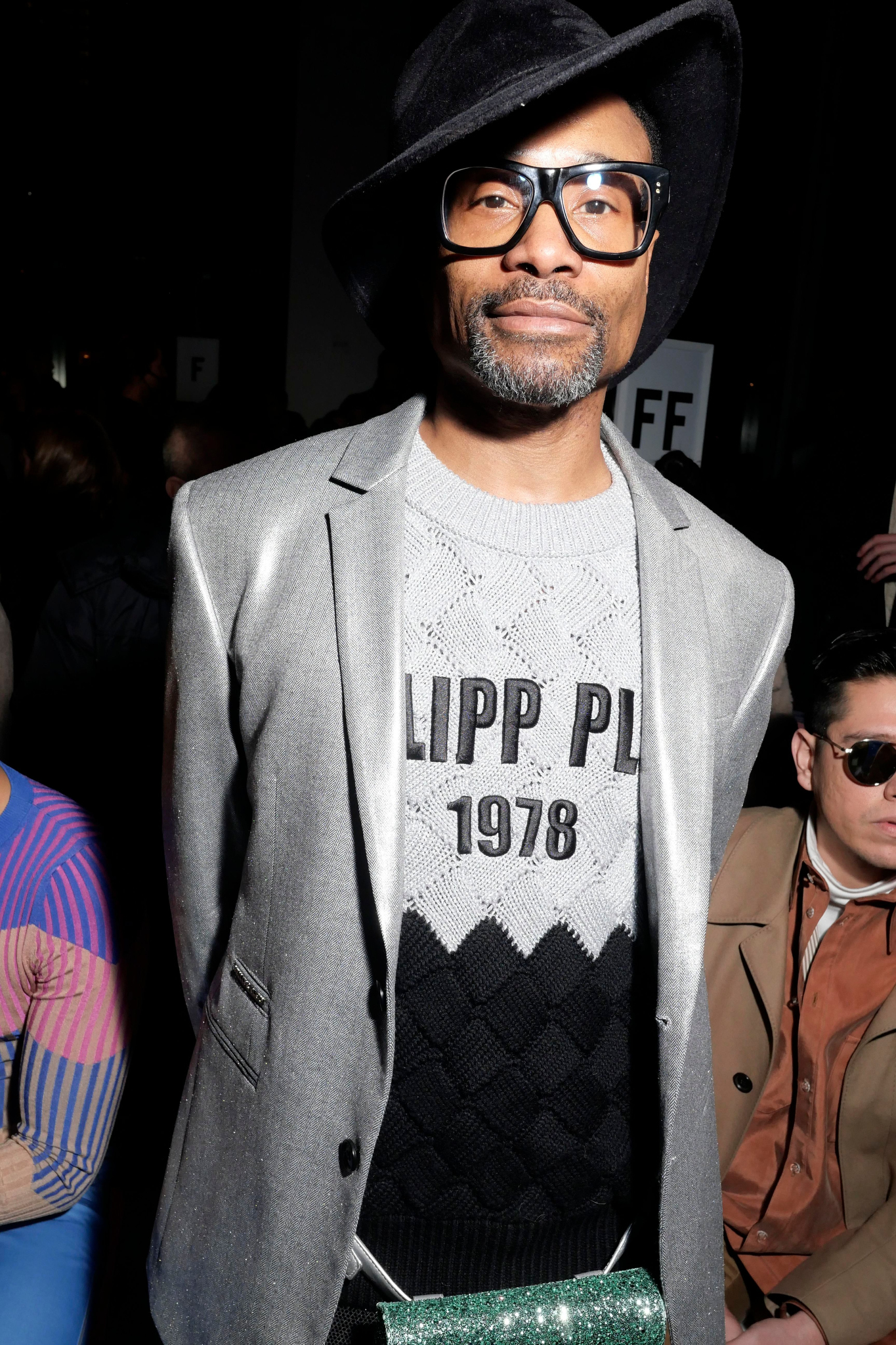 Billy Porter in the front rowPrabal Gurung show, Front Row, Fall Winter 2019, New York Fashion Week, USA - 10 Feb 2019
