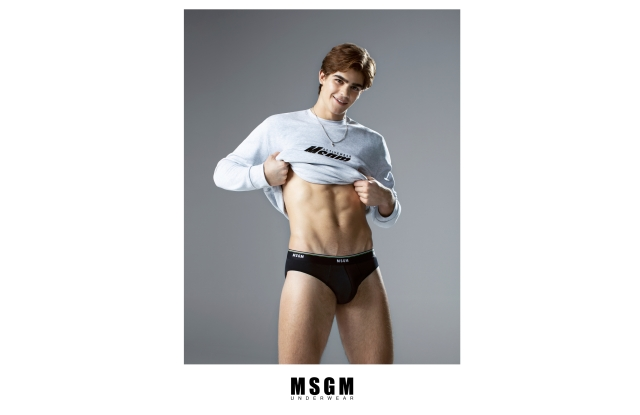 MSGM to debut Underwear collection.