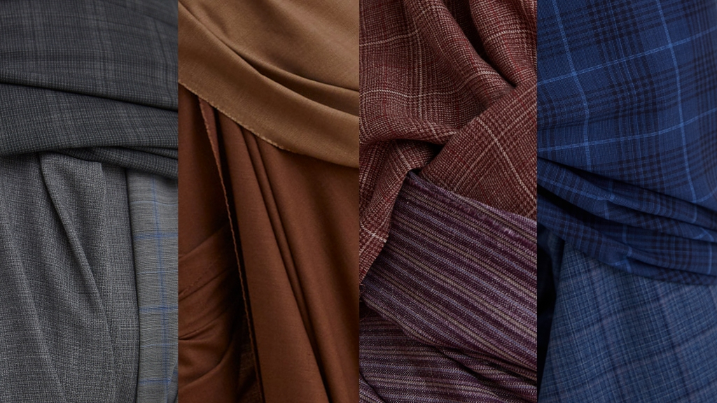 Fabrics from the Reda 1865 spring 2020 collection.