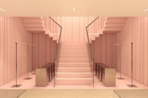 Rendering of Burberry 57th Street Store, New York.