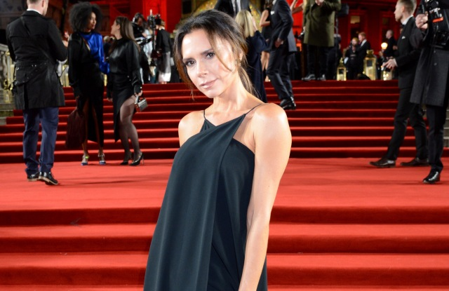 Victoria BeckhamThe British Fashion Awards, VIP Arrivals, Royal Albert Hall, London, UK - 10 Dec 2018Wearing Own Collection Same Outfit as catwalk model *9881297ap