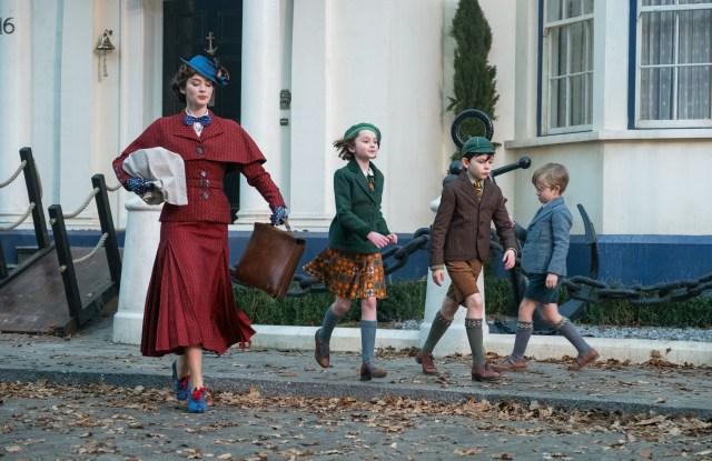 'Mary Poppins Returns' Film - 2018