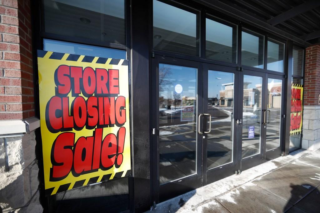Sears store Streets of Southglenn, r m. Signs mark the closing of a Sears store in the Streets of Southglenn mall in Littleton, ColoSears - 31 Dec 2018