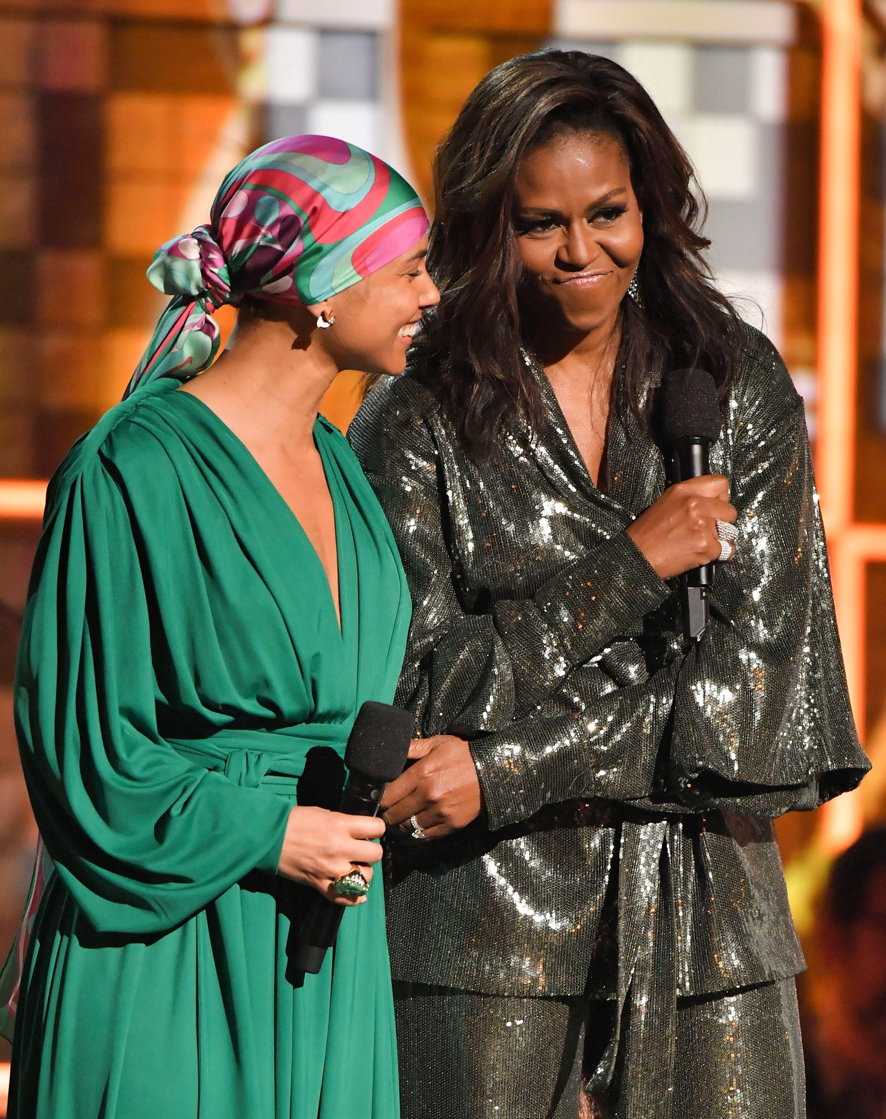 Alicia Keys, Michelle Obama