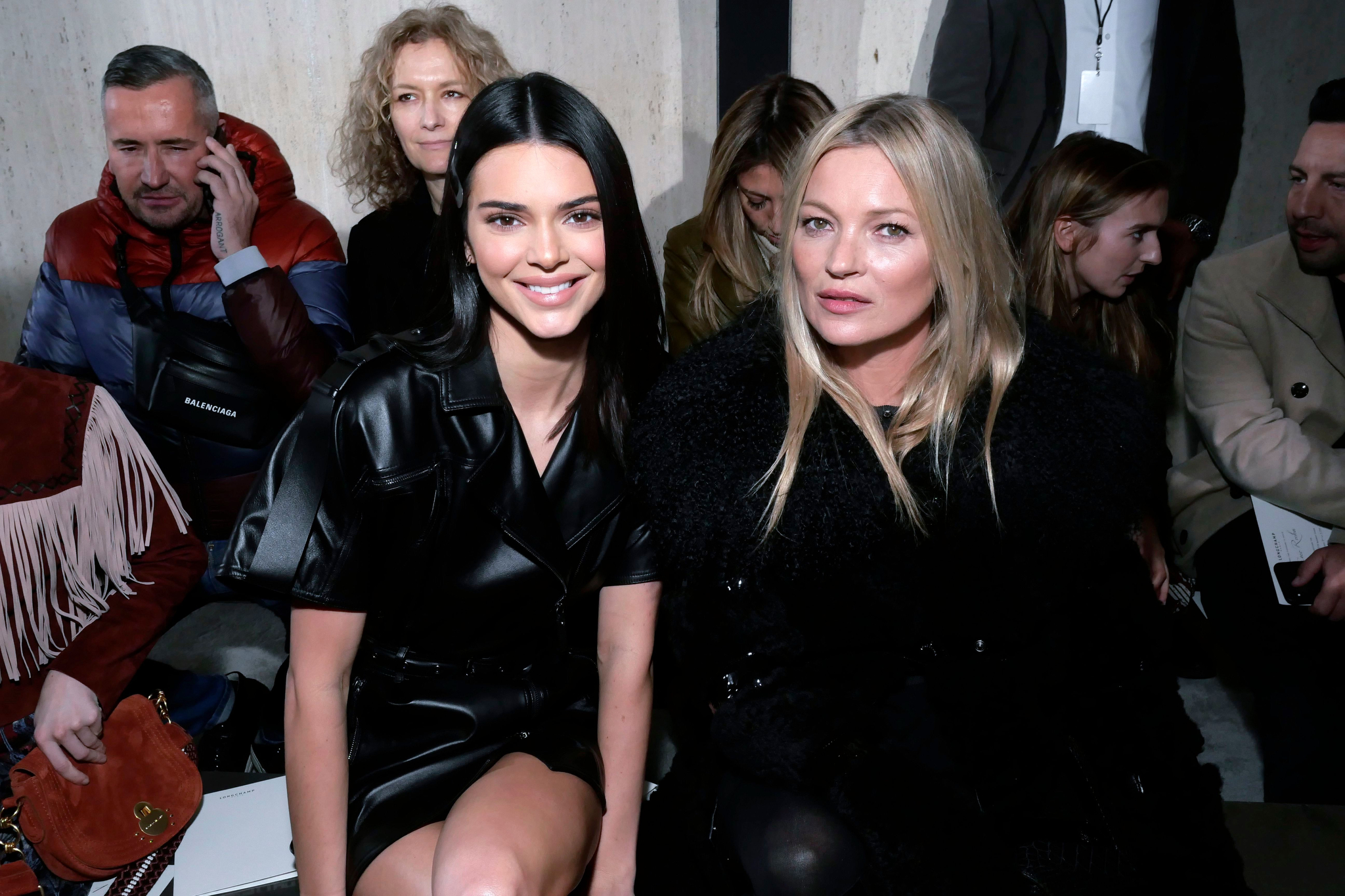 Kendall Jenner and Kate Moss